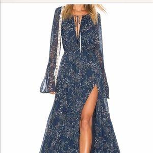 The Jetset Diaries Mediterranean Maxi Dress M NWT